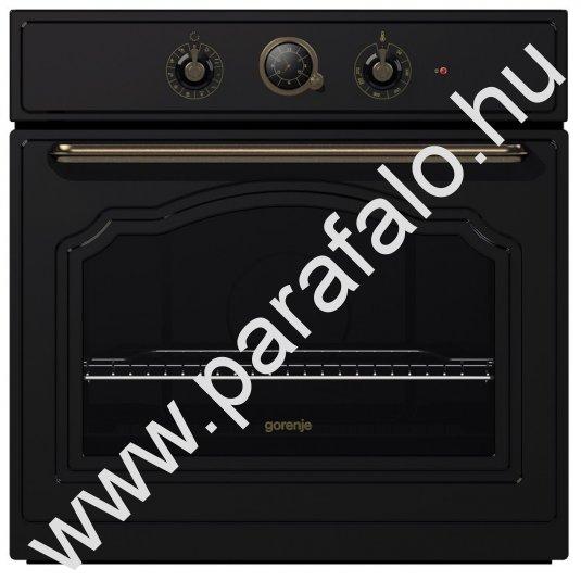 Gorenje BO73CLB fekete rusztikus elektromos sütő