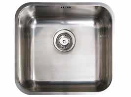 CB 45-40 Pult alá építhető mosogatótálca