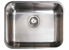 CB 50-40 Pult alá építhető mosogatótálca