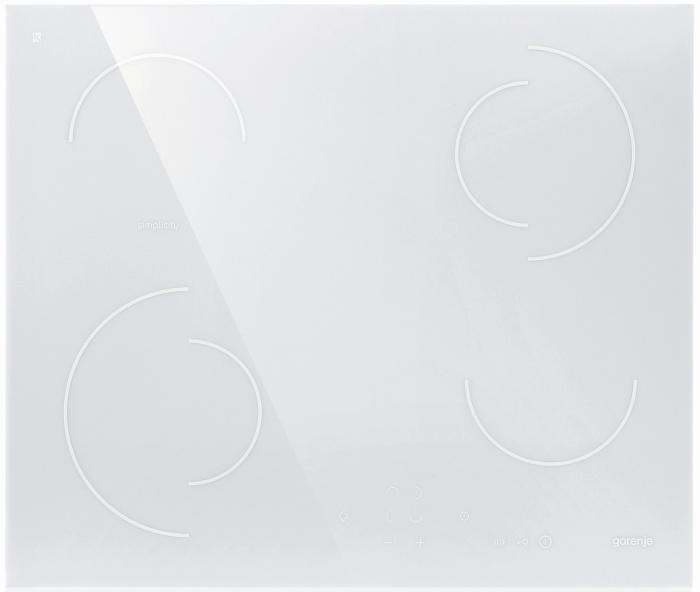 FEHÉR üvegkerámia főzőlap
