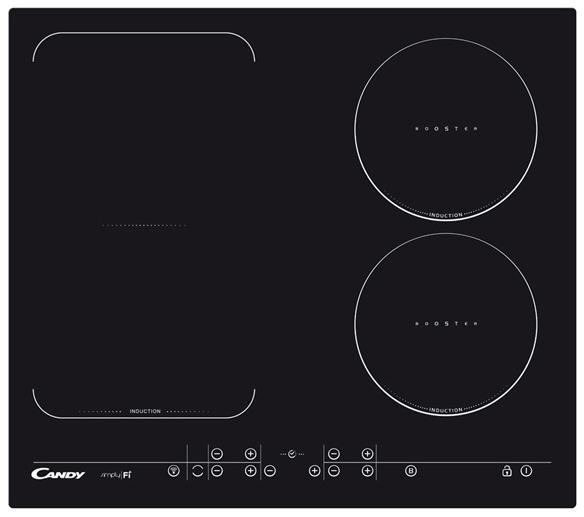 CFID 36 Wi-Fi Beépíthető indukciós főzőlap