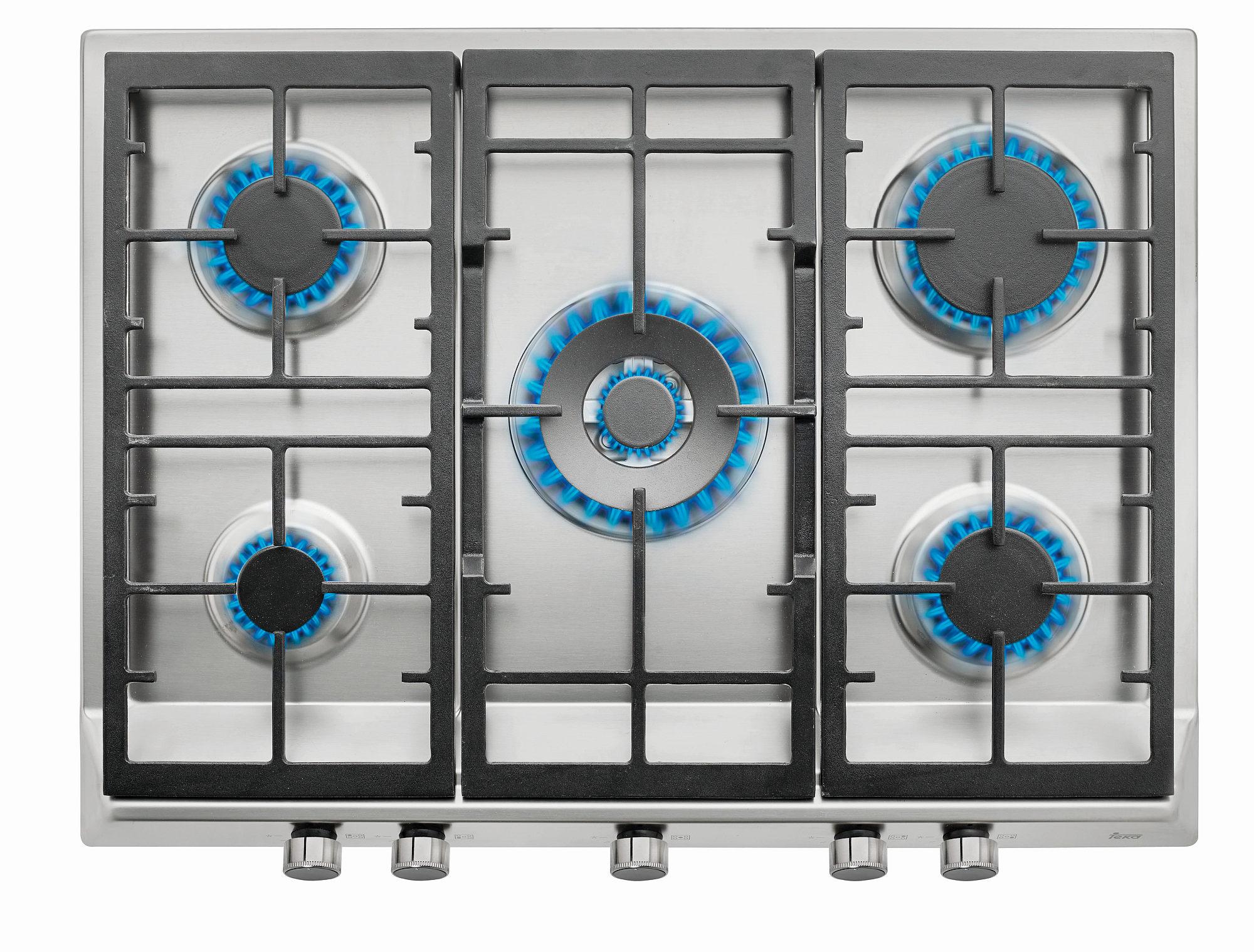 EX 70.1 5G Beépíthető gázfőzőlap