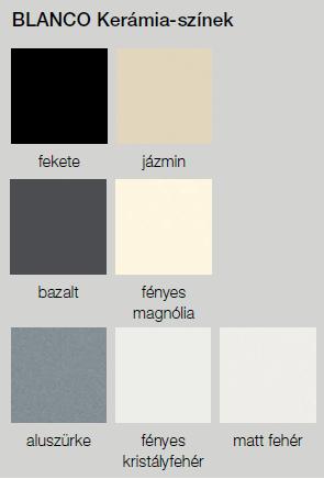 BLANCO kerámia színek