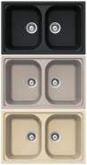 TEKA ALBA 80 B TG Mosogat�t�lca homokb�zs, top�zb�zs, everest, amber, met�l fekete, antracit