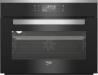 BEKO BCS-18500X Kompakt sütő fekete/inox