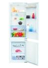 BEKO BCSA 283 E2S Beépíthető kombinált hűtő