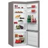WHIRLPOOL BLF 5121 OX Alulfagyasztós kombinált hűtő inox