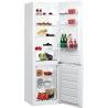 WHIRLPOOL BLF 8122 W Alulfagyasztós kombinált hűtő fehér