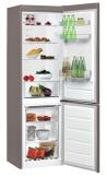 WHIRLPOOL BSNF 8101 OX Alulfagyasztós kombinált hűtő inox