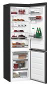 WHIRLPOOL BSNF 8999 PB Alulfagyasztós kombinált hűtő fekete