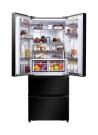 CANDY CCMN 7182 B Alulfagyasztós kombinált hűtő fekete