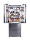 CANDY CCMN 7182 IXS Alulfagyasztós kombinált hűtő inox/ezüst