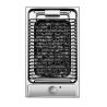 CANDY CDB 30/1 X Beépíthető dominó elektromos lávaköves grill (barbecue) inox