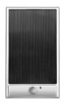 CANDY CDVG 30/1 X Beépíthető dominó üvegkerámia grill lap inox/fekete üveg