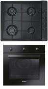 CANDY CLG 64 SPN - FPE 502/6 N Beépíthető sütő gázfőzőlap szett fekete