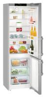 LIEBHERR CNef 4015 Alulfagyasztós kombinált hűtő inox ajtó, ezüst oldalak