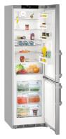 LIEBHERR CNef 4815 Alulfagyasztós kombinált hűtő SmartSteel inox ajtó, ezüst oldalak
