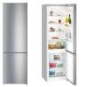 LIEBHERR CNel 4813 Alulfagyasztós kombinált hűtő inox hatású ajtó, ezüst oldalak