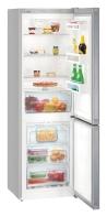 LIEBHERR CNPel 4313 Alulfagyasztós kombinált hűtő inox hatású ajtó, ezüst oldalak