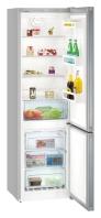 LIEBHERR CNPel 4813 Alulfagyasztós kombinált hűtő inox hatású ajtó, ezüst oldalak