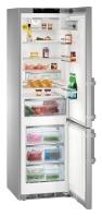 LIEBHERR CNPes 4858 Alulfagyasztós kombinált hűtő SmartSteel inox ajtó és oldalak