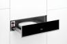 TEKA CP 15 GS Beépíthető melegentartó fiók inox/fekete