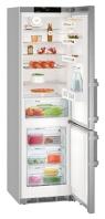 LIEBHERR CPef 4815 Alulfagyasztós kombinált hűtő SmartSteel inox ajtó, ezüst oldalak