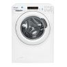 CANDY CS4 1272D3/1-S Keskeny elöltöltős mosógép fehér