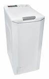 CANDY CST G384D-S Felültöltős mosógép fehér, ezüst kilincs