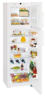 LIEBHERR CTN 3663 Felülfagyasztós kombinált hűtő fehér