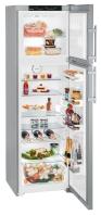 LIEBHERR CTNesf 3663 Felülfagyasztós kombinált hűtő SmartSteel inox ajtó, ezüst oldalak