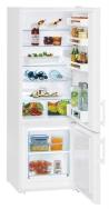 LIEBHERR CU 2811 Alulfagyasztós kombinált hűtő fehér