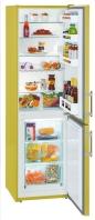 LIEBHERR CUag 3311 Alulfagyasztós kombinált hűtő avocado green - sárga zöld