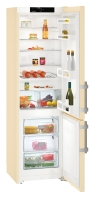 LIEBHERR CUbe 4015 Alulfagyasztós kombinált hűtő bézs (beige)