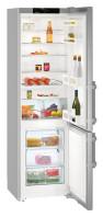LIEBHERR CUef 4015 Alulfagyasztós kombinált hűtő inox ajtó, ezüst oldalak