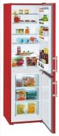 LIEBHERR CUfr 3311 Alulfagyasztós kombinált hűtő fire red - piros