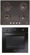 CANDY CVG 64 SGNX - FPE 502/6 N Beépíthető sütő gázfőzőlap szett fekete