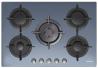 CANDY CVG 75 SWGX Beépíthető üveg-gázfőzőlap tükör ezüst