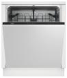 BEKO DIN-15210 Teljesen beépíthető mosogatógép