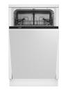 BEKO DIS-15010 Teljesen beépíthető mosogatógép