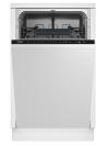 BEKO DIS-26020 Teljesen beépíthető mosogatógép