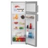BEKO DSA 240 K21XP Felülfagyasztós kombinált hűtő ezüst/inox