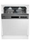 BEKO DSN 28430 X Kezelőszervig beépíthető mosogatógép inox