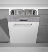 TEKA DW 605 S Kezelőszervig beépíthető mosogatógép inox kezelő