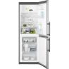 ELECTROLUX EN3201MOX Alulfagyasztós kombinált hűtő ezüst oldalak / inox ajtó