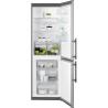 ELECTROLUX EN3601MOX Alulfagyasztós kombinált hűtő ezüst oldalak / inox ajtó