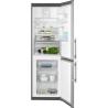 ELECTROLUX EN 3454 NOX Alulfagyasztós kombinált hűtő inox ajtó - szürke oldalak