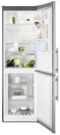 ELECTROLUX EN 3455 MFX Alulfagyasztós kombinált hűtő inox ajtó - szürke oldalak