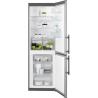 ELECTROLUX EN 3613 MOX Alulfagyasztós kombinált hűtő ezüst oldalak / inox ajtó