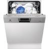 ELECTROLUX ESI 5510 LAX Kezelőszervig beépíthető mosogatógép inox kezelő